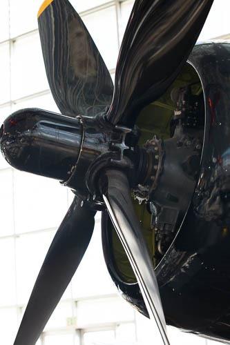 FG-1D Corsair prop
