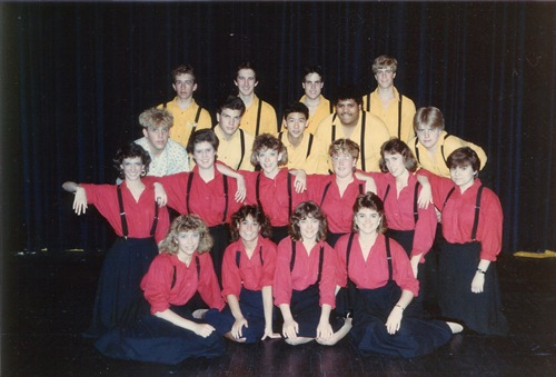Woodbury High School Swing Choir 1986