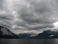 A cloudy day in Desolation Sound