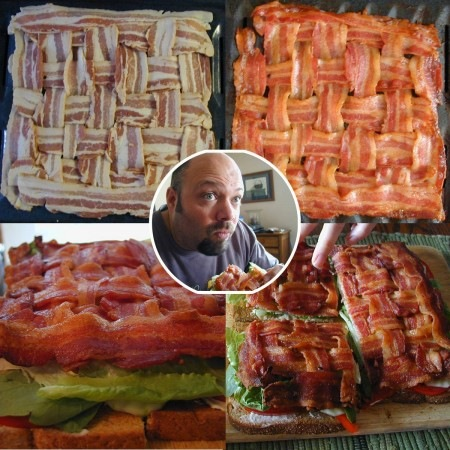 Bacon weave photo