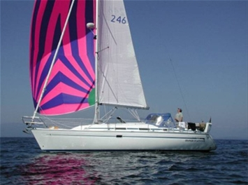 Papa, the Bavaria 36 I'll be sailing on.