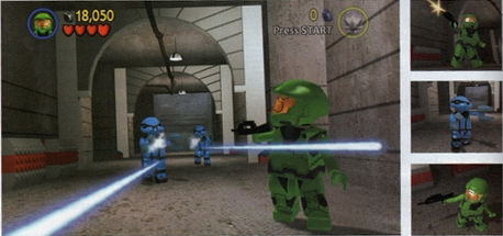 Lego Halo screenshots