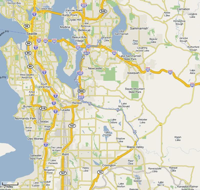 Ride map - click to see a larger version