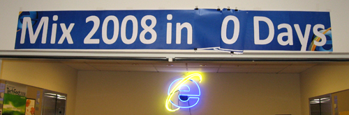 MIX 2008 in 0 Days countdown banner
