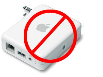 No Airport Express