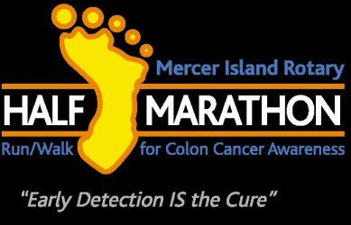 Mercer Island Half Marathon logo