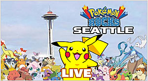Pokemon Rocks Seattle