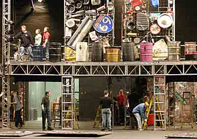 STOMP set load-in