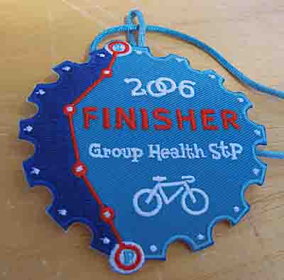 STP finisher patch