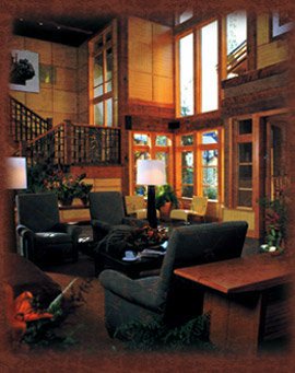 Willows Lodge lobby