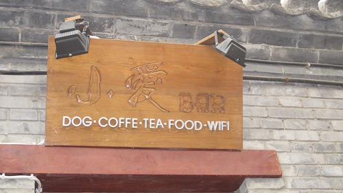 Shao Ai Bar, Dog Coffe [sic], Tea, Food, WiFi